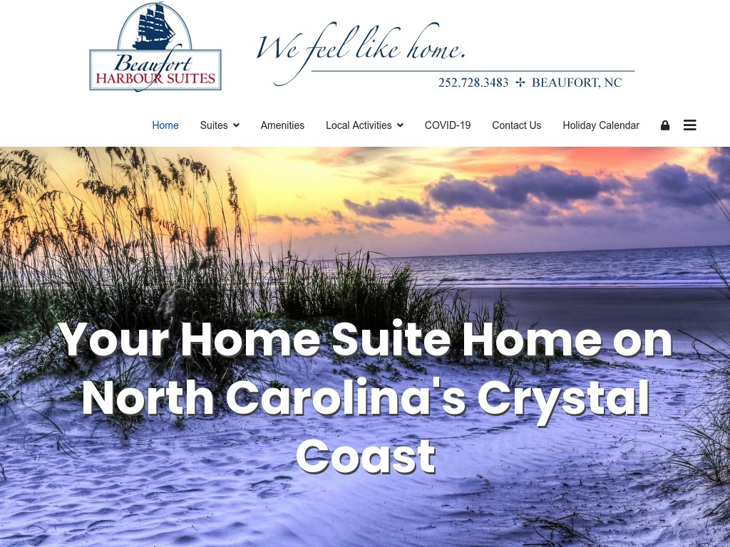 Beaufort Harbour Suites Website