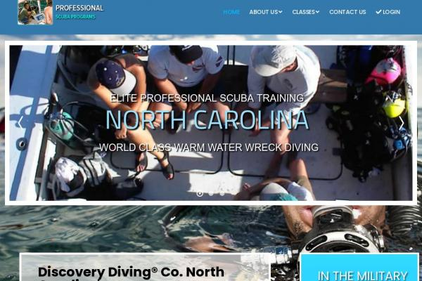 Discovery Diving Dive Training