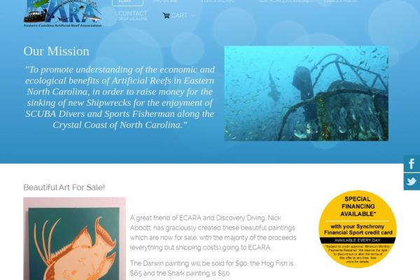 Eastern Carolina Artificial Reef Assoc.