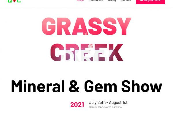 Grassy Creek Gem Show